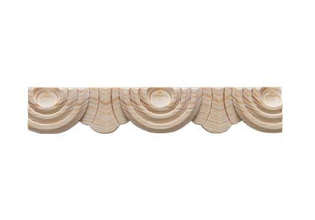 Carved wood moulding