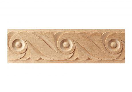 Frieze wood moulding