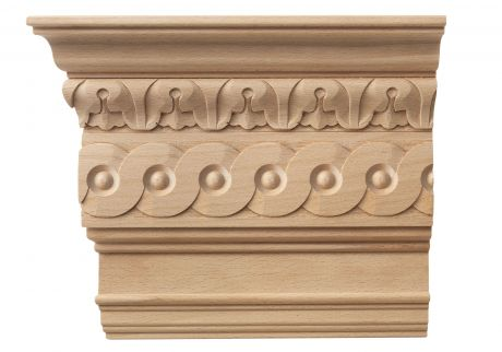 Cornice wood moulding