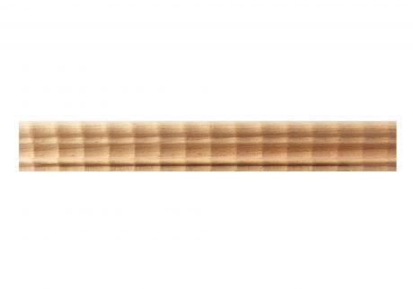 Dutch ripple wood moulding
